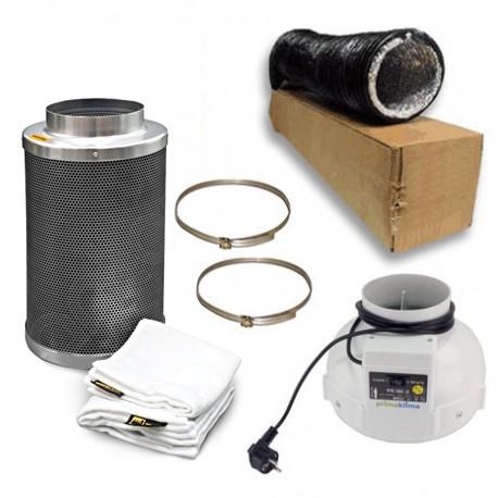 pack ventilation filtre à charbon